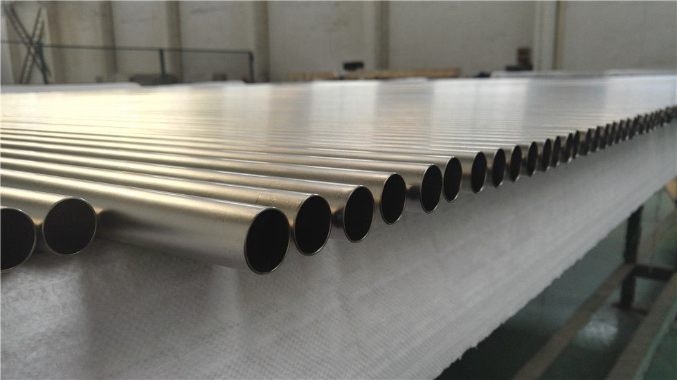 Customizable Seamless Titanium Tubing , ASTM B338 3 Inch Titanium Pipe